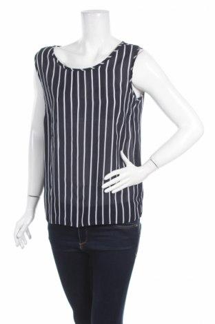 Γυναικείο αμάνικο μπλουζάκι Amanda, Μέγεθος M, Χρώμα Μπλέ, Πολυεστέρας, Τιμή 11,60€