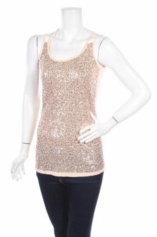 Γυναικείο αμάνικο μπλουζάκι Ann Christine, Μέγεθος M, Χρώμα Ρόζ , Βισκόζη, Τιμή 2,84€