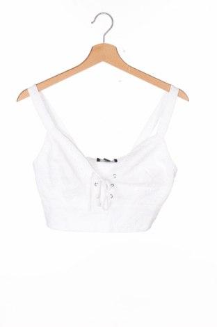Dámske tielko  New Look, Veľkosť S, Farba Biela, Bavlna, Cena  7,58€