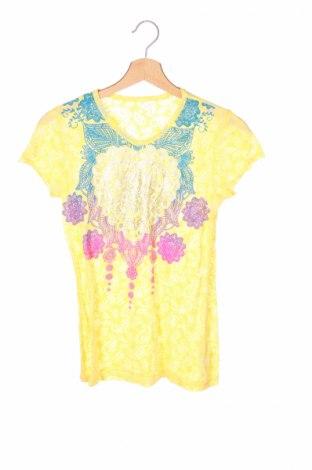 Детска блуза, Размер 15-18y/ 170-176 см, Цвят Жълт, 59% полиестер, 41% памук, Цена 4,50лв.