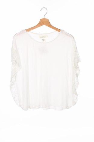 Детска блуза H&M L.o.g.g, Размер 14-15y/ 168-170 см, Цвят Бял, Вискоза, Цена 4,00лв.