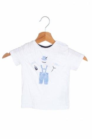 Detské tričko S.Oliver, Veľkosť 12-18m/ 80-86 cm, Farba Biela, Bavlna, Cena  5,77€