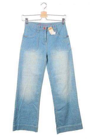 Детски дънки Dp...am, Размер 13-14y/ 164-168 см, Цвят Син, 98% памук, 2% еластан, Цена 8,45лв.