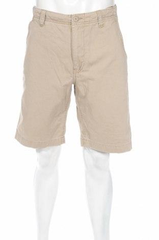 Мъжки къс панталон American Eagle, Размер M, Цвят Бежов, 100% памук, Цена 7,20лв.