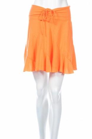 Пола, Размер XS, Цвят Оранжев, 95% полиестер, 5% еластан, Цена 12,60лв.