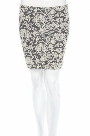 Пола Gina Tricot, Размер XS, Цвят Сив, 65% памук, 30% полиестер, 5% еластан, Цена 5,75лв.