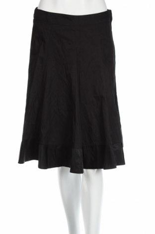 Пола H&M, Размер S, Цвят Черен, 95% памук, 5% еластан, Цена 7,77лв.