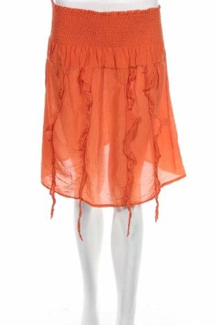 Φούστα Pink Woman, Μέγεθος S, Χρώμα Πορτοκαλί, 70% βαμβάκι, 30% μετάξι, Τιμή 4,76€
