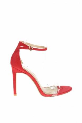 Sandale Bebo, Mărime 39, Culoare Roșu, Textil, Preț 53,33 Lei