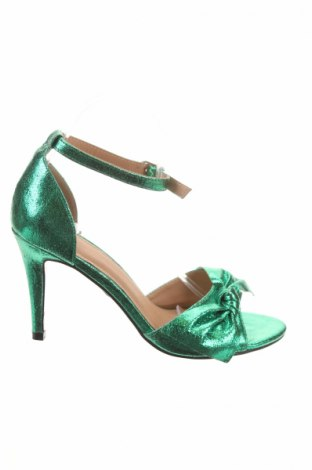 Сандали Buffalo, Размер 40, Цвят Зелен, Текстил, Цена 31,05лв.