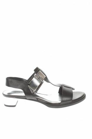 Sandále Calvin Klein, Veľkosť 36, Farba Čierna, Pravá koža , Cena  27,32€