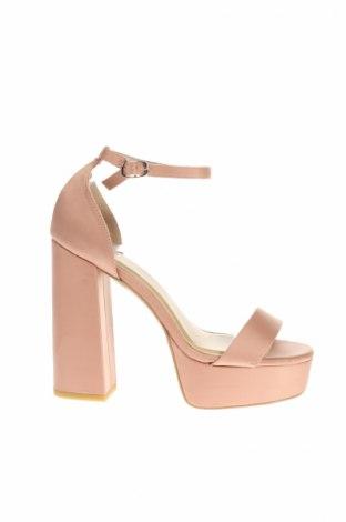 Sandale Even&Odd, Mărime 38, Culoare Roz, Textil, Preț 50,37 Lei