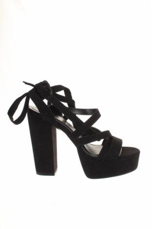 Σανδάλια Even&Odd, Μέγεθος 41, Χρώμα Μαύρο, Κλωστοϋφαντουργικά προϊόντα, Τιμή 17,40€
