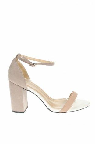 Sandále New Look, Veľkosť 39, Farba Béžová, Textil, Cena  8,66€