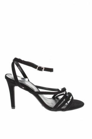 Σανδάλια New Look, Μέγεθος 39, Χρώμα Μαύρο, Κλωστοϋφαντουργικά προϊόντα, Τιμή 12,29€