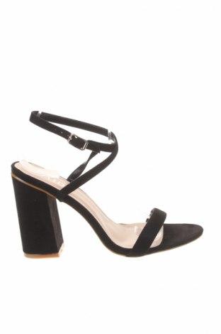 Σανδάλια Raid, Μέγεθος 39, Χρώμα Μαύρο, Κλωστοϋφαντουργικά προϊόντα, Τιμή 17,40€