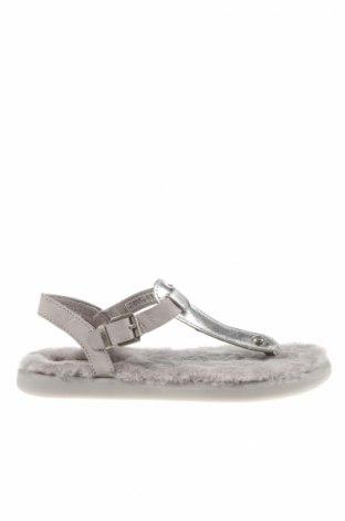 Sandale Ugg Australia, Mărime 36, Culoare Gri, Piele naturală, Preț 182,72 Lei