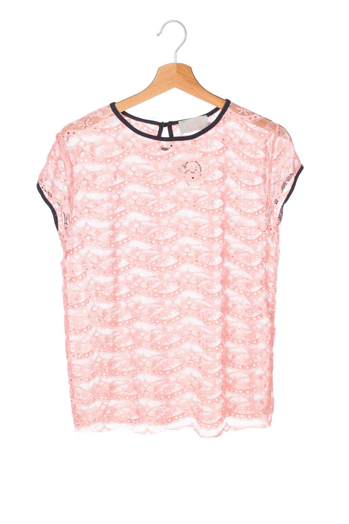 Детска блуза, Размер 12-13y/ 158-164 см, Цвят Розов, Цена 3,06лв.