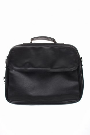 Чанта за лаптоп, Цвят Черен, Еко кожа, Цена 12,74лв.