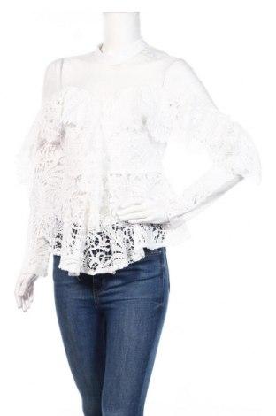 Дамска блуза Allyson, Размер M, Цвят Бял, Полиестер, Цена 27,30лв.