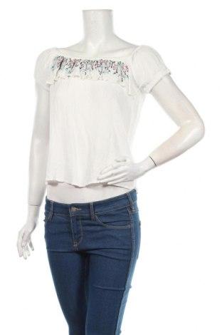 Γυναικεία μπλούζα Cropp, Μέγεθος XL, Χρώμα Λευκό, 100% βισκόζη, Τιμή 6,27€