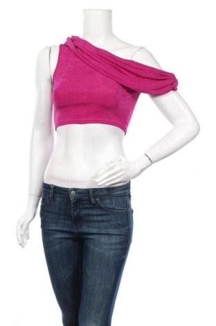 Γυναικεία μπλούζα Nasty Gal, Μέγεθος M, Χρώμα Ρόζ , 95% πολυεστέρας, 5% ελαστάνη, Τιμή 6,27€