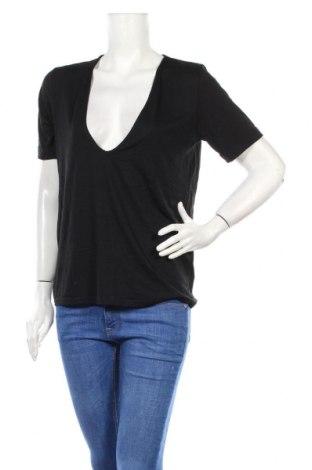 Дамска блуза Nasty Gal, Размер S, Цвят Черен, 95% вискоза, 5% еластан, Цена 19,20лв.