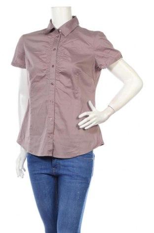 Дамска риза Esprit, Размер L, Цвят Пепел от рози, 75% памук, 21% полиамид, 4% еластан, Цена 7,15лв.