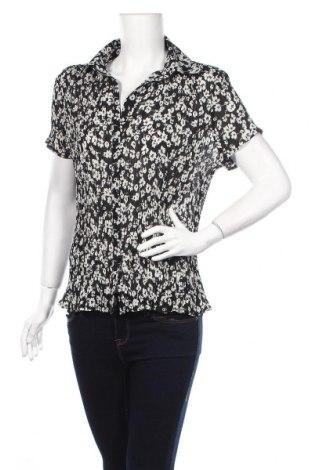 Дамска риза F&F, Размер M, Цвят Черен, Цена 5,75лв.