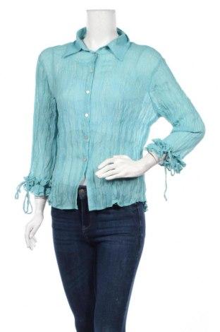 Дамска риза Piano, Размер L, Цвят Син, Цена 4,80лв.
