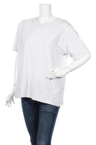 Дамска тениска Cotton On, Размер L, Цвят Сив, 95% памук, 5% еластан, Цена 18,56лв.