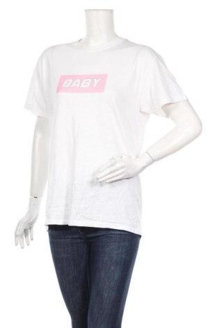 Дамска тениска Nasty Gal, Размер S, Цвят Бял, Памук, Цена 28,00лв.