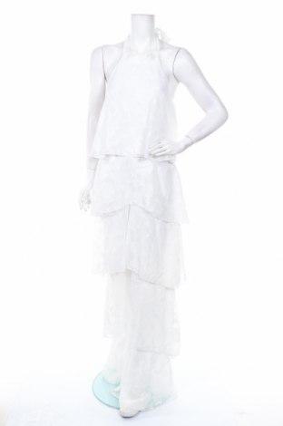 Дамски гащеризон Allyson, Размер XL, Цвят Бял, Полиестер, Цена 31,68лв.