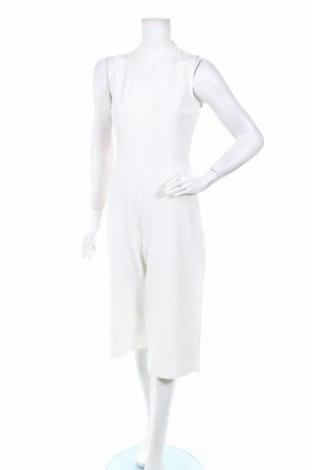 Дамски гащеризон Boohoo, Размер M, Цвят Бял, 95% полиестер, 5% еластан, Цена 15,96лв.