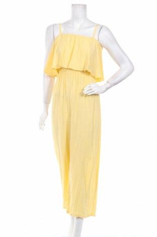 Дамски гащеризон Innocent, Размер S, Цвят Жълт, Вискоза, Цена 22,44лв.