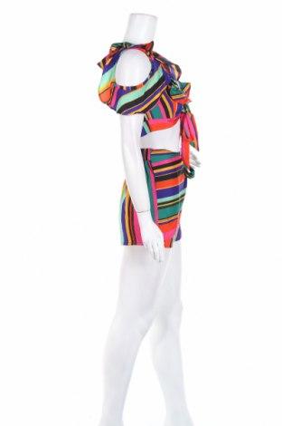 Дамски комплект Boohoo, Размер XS, Цвят Многоцветен, Полиестер, Цена 7,92лв.