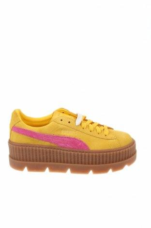 Γυναικεία παπούτσια Fenty Puma by Rihanna, Μέγεθος 37, Χρώμα Κίτρινο, Φυσικό σουέτ, Τιμή 78,93€