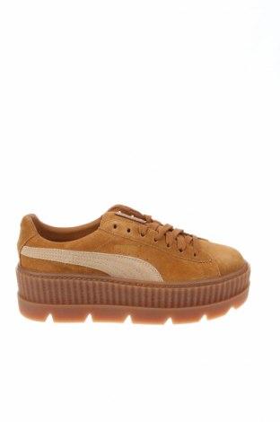 Γυναικεία παπούτσια Fenty Puma by Rihanna, Μέγεθος 37, Χρώμα Καφέ, Φυσικό σουέτ, Τιμή 78,93€