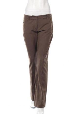 Дамски панталон Blacky Dress, Размер S, Цвят Кафяв, 71% вискоза, 24% полиамид, 5% еластан, Цена 12,56лв.