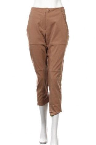 Дамски панталон By Malene Birger, Размер L, Цвят Бежов, 57% полиестер, 40% памук, 3% еластан, Цена 58,40лв.