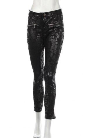 Damskie spodnie Janina, Rozmiar L, Kolor Czarny, 67% bawełna, 30% poliester, 3% elastyna, Cena 66,30zł