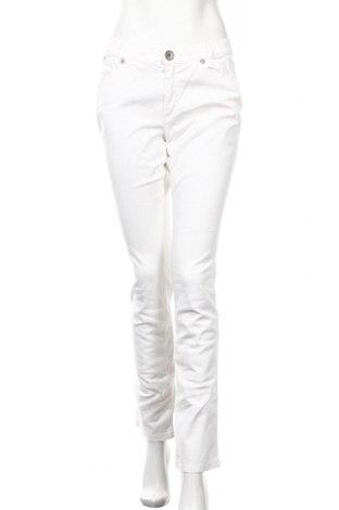 Дамски панталон Marella Sport, Размер M, Цвят Бял, 98% памук, 2% еластан, Цена 31,20лв.
