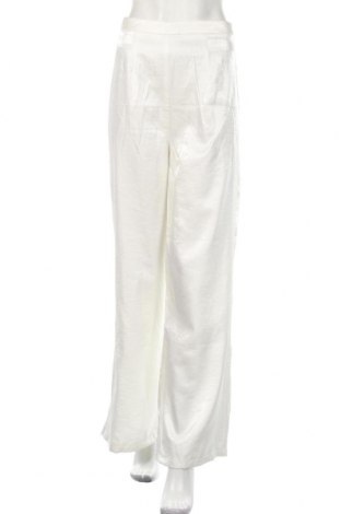 Дамски панталон Nasty Gal, Размер M, Цвят Бял, Полиестер, Цена 19,78лв.