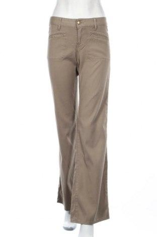 Дамски панталон Replay, Размер M, Цвят Зелен, Памук, Цена 21,84лв.