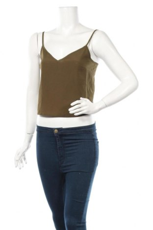 Γυναικείο αμάνικο μπλουζάκι Fashion Union, Μέγεθος M, Χρώμα Πράσινο, Τιμή 6,20€