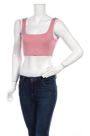 Γυναικείο αμάνικο μπλουζάκι Nasty Gal, Μέγεθος M, Χρώμα Ρόζ , 95% βισκόζη, 5% ελαστάνη, Τιμή 5,76€
