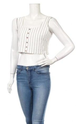 Γυναικείο αμάνικο μπλουζάκι Nasty Gal, Μέγεθος M, Χρώμα Λευκό, Βαμβάκι, Τιμή 5,76€