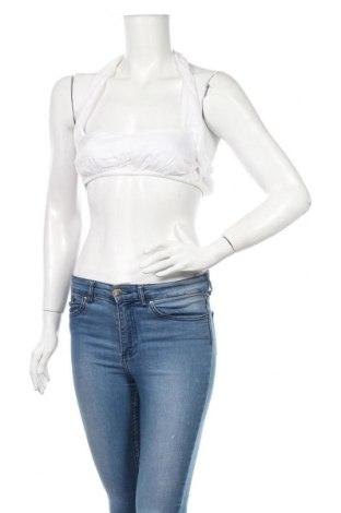 Γυναικείο αμάνικο μπλουζάκι Nasty Gal, Μέγεθος XS, Χρώμα Λευκό, Βισκόζη, Τιμή 5,76€