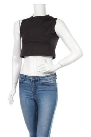 Γυναικείο αμάνικο μπλουζάκι Nasty Gal, Μέγεθος S, Χρώμα Μαύρο, Πολυεστέρας, Τιμή 5,76€