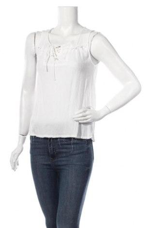 Γυναικείο αμάνικο μπλουζάκι Sinsay, Μέγεθος M, Χρώμα Λευκό, Βισκόζη, Τιμή 5,32€